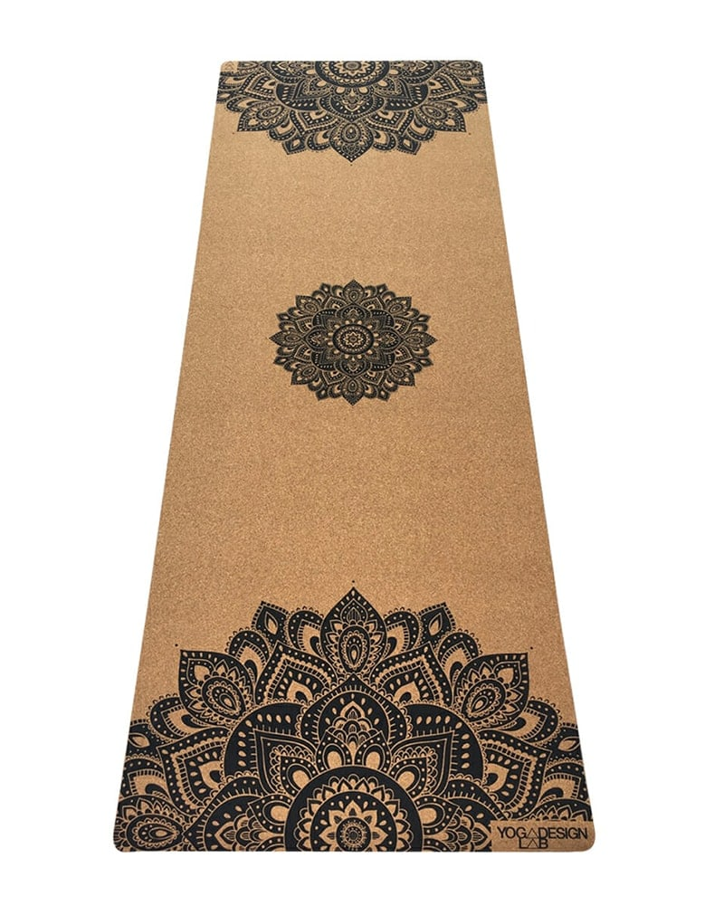Yoga Design Lab Cork Yoga Mat - Cork Mandala - Accessories - Yoga - Dancewear Centre Canada