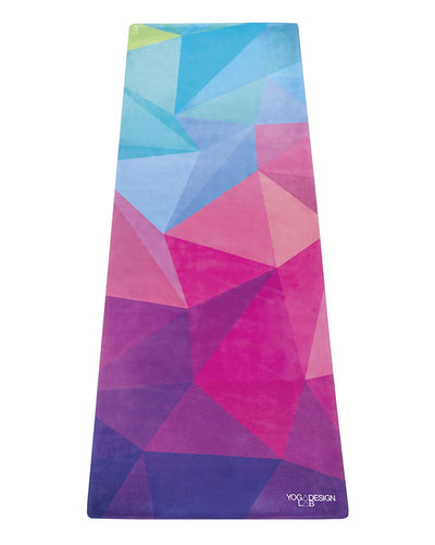 Yoga Design Lab Travel Yoga Mat 1mm - Geo Print - Accessories - Yoga - Dancewear Centre Canada