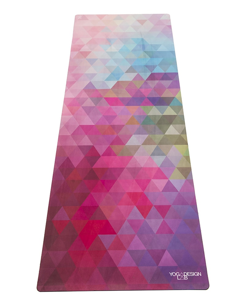 Yoga Design Lab Combo Studio Yoga Mat 3.5mm - Tribeca Sand Print - Accessories - Yoga - Dancewear Centre Canada