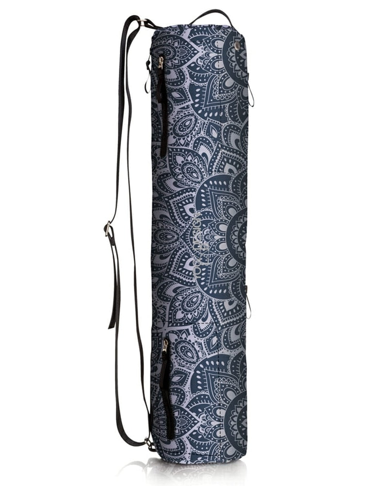 Yoga Design Lab Yoga Mat Bag - Mandala Charcoal Print