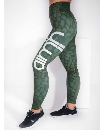 aimn - Anaconda Legging Womens - Activewear - Bottoms - Dancewear Centre Canada