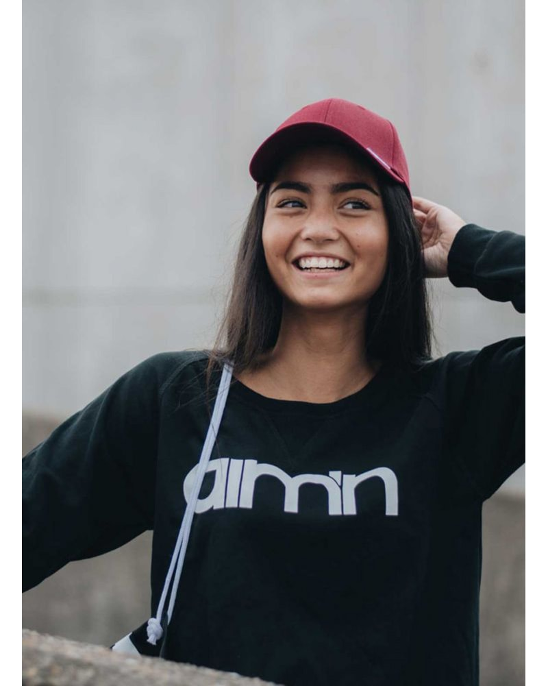 aimn - Black Sweatshirt Womens