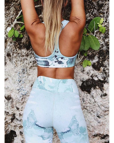 aimn High Waist Legging - Womens - Wild Spirit Print - Activewear - Bottoms - Dancewear Centre Canada