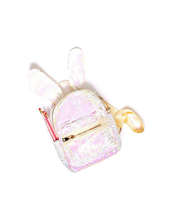 iloveplum - Bunnie Backpack - White - Accessories - Dance Gifts - Dancewear Centre Canada