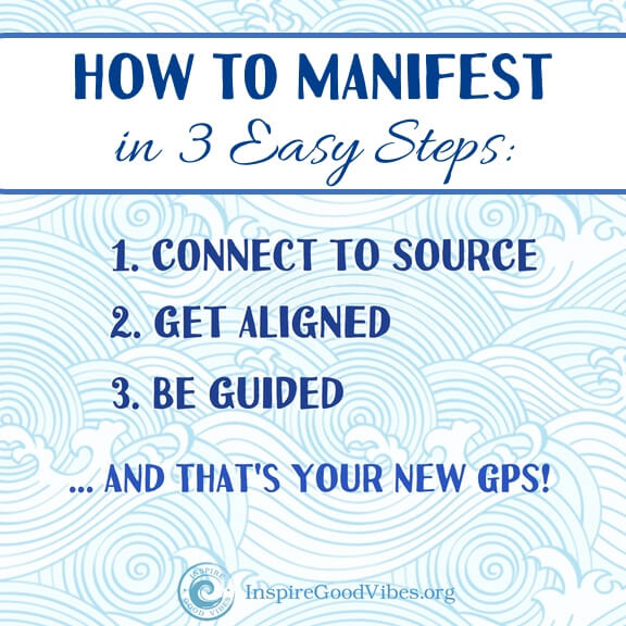 How to Manifest in three easy steps!