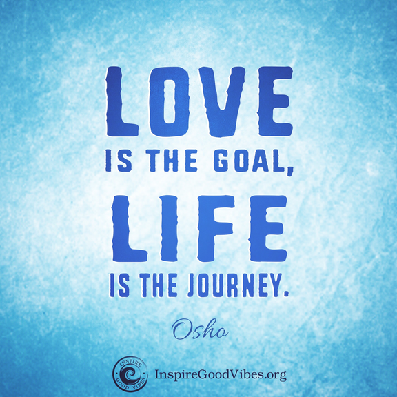 Love Quotes Journey: Osho Quote On Love From Inspire Good Vibes