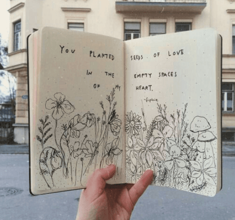 be creative journaling