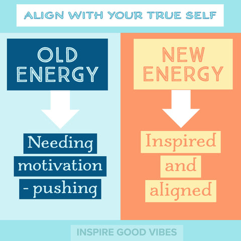 align with your true self