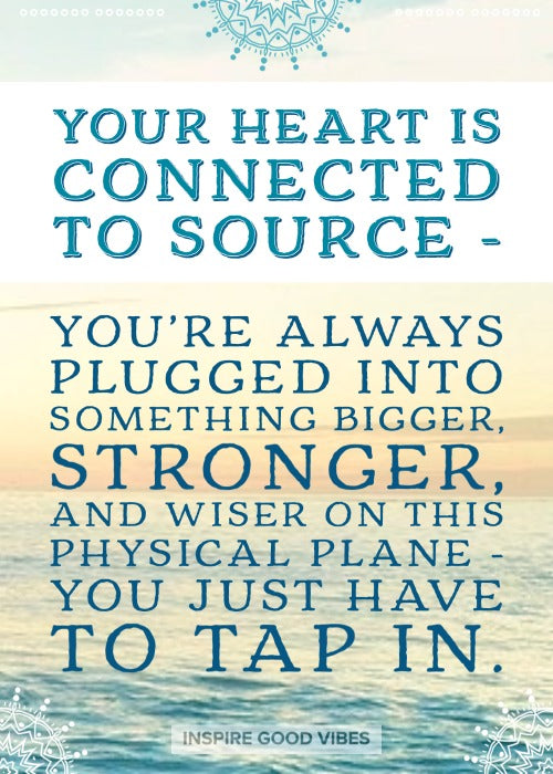 connect to heart with Source