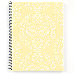 notebook with pagination