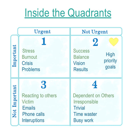 inside the quadrants