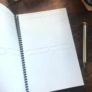 6x9 journal index