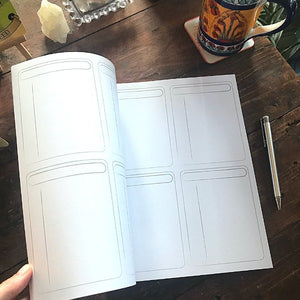 8.5 x 11 Large Journal Notebook
