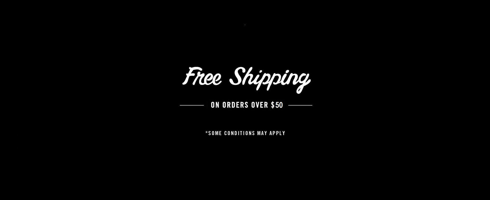 FREE SHIPPING $50 and over