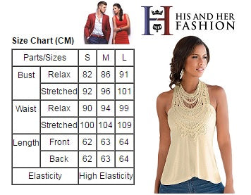 His and Her Fashion Women Blouse Size Chart