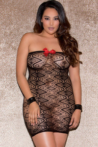 BIG'n BOLD Lustful Illusion Pattern Lingerie