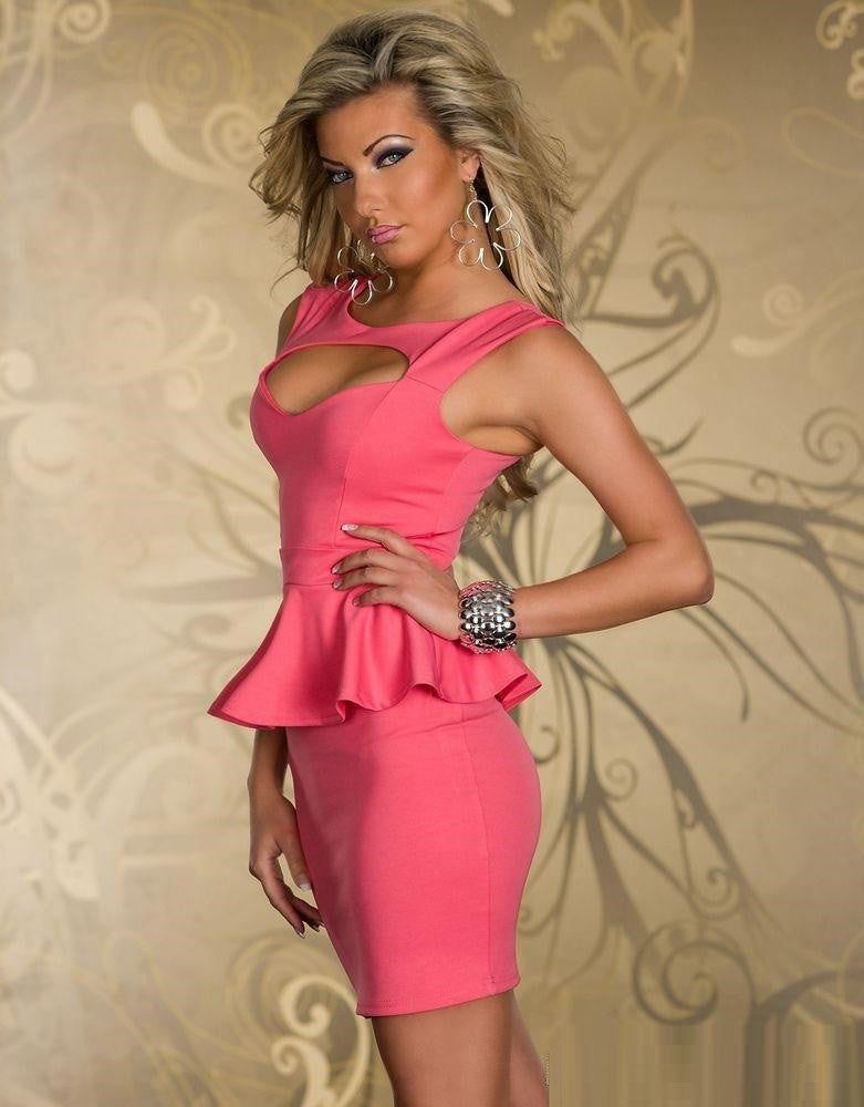 New Fashion Elegant Peplum Formal Dresses for Women