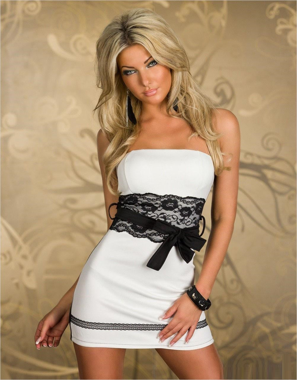 Women Mini Slim Club Evening Dresses