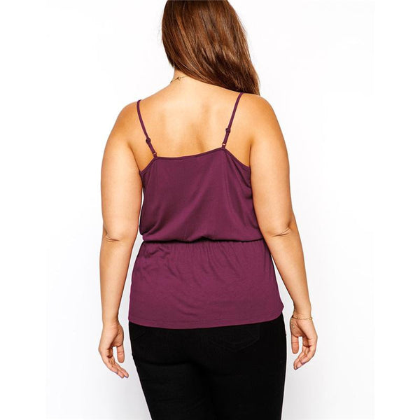 """BignTrendy Series""  Camis V-Neck Slim and Sexy Tank Top"