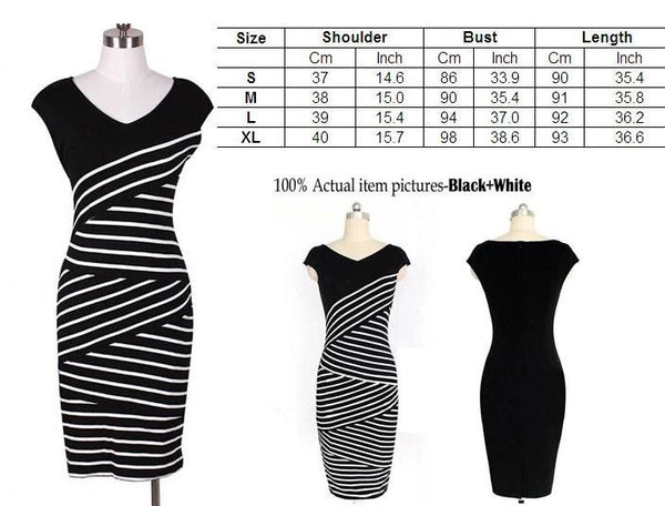 """Trendy Series"" Bodycon Free Spirit Cocktail Party Slim Sexy Sheath Dress"