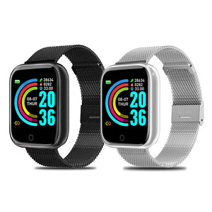Unisex Sports Smartwatch Fitness Bracelet Tracker Heart Rate Monitor