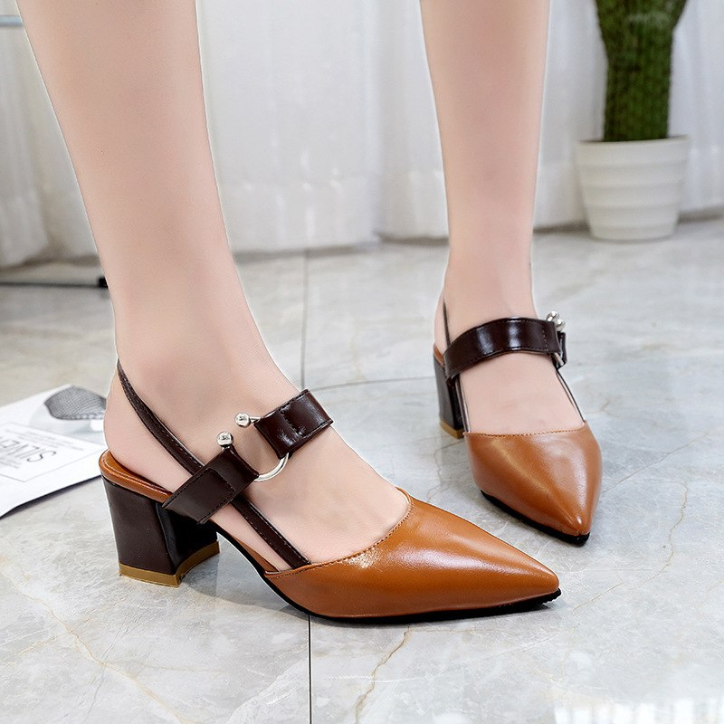 High-end Pointed Shoes Her Fashion Summer Trendy Ladies Sandals