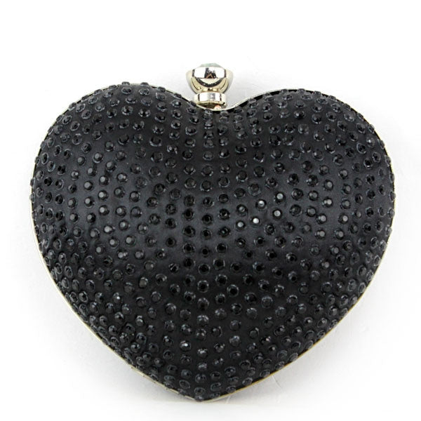 Elegant Evening Bag Fashion Black Clutches