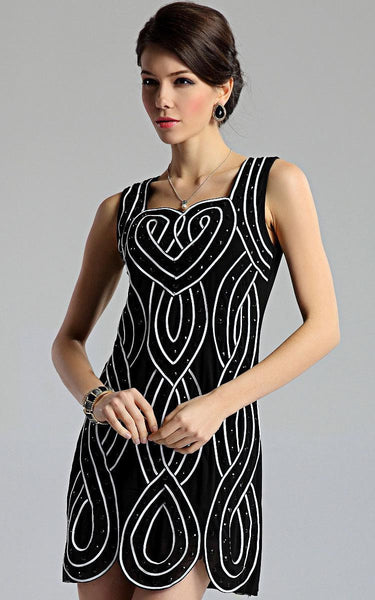 "European Design ""Elegant Series"" Rhinestone Dress"