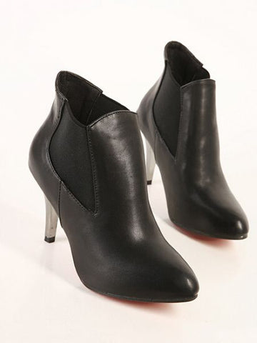 Fashion Pointed Toed High Heel Boots