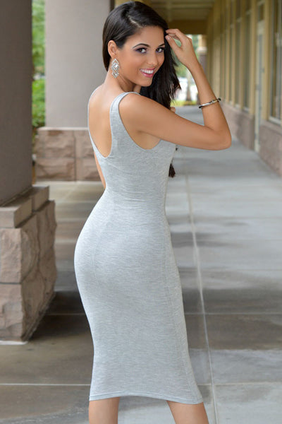 Flatter The Figure Stylish Look Dress