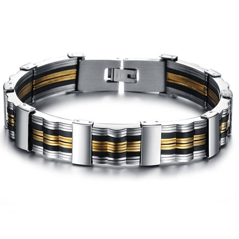 His Trendy Bracelet Titanium Steel Bangle