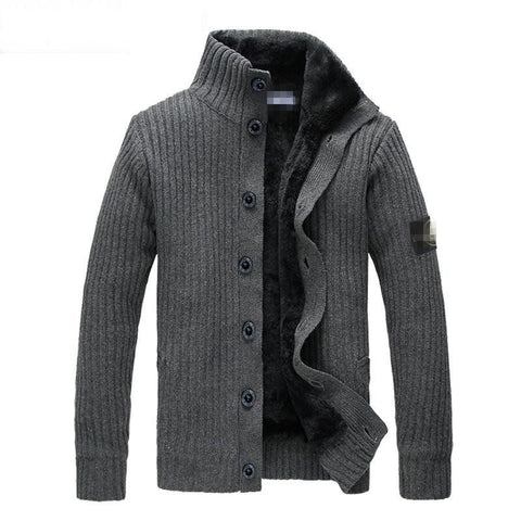 Male Outerwear 2015 Stone Sweater Jacket