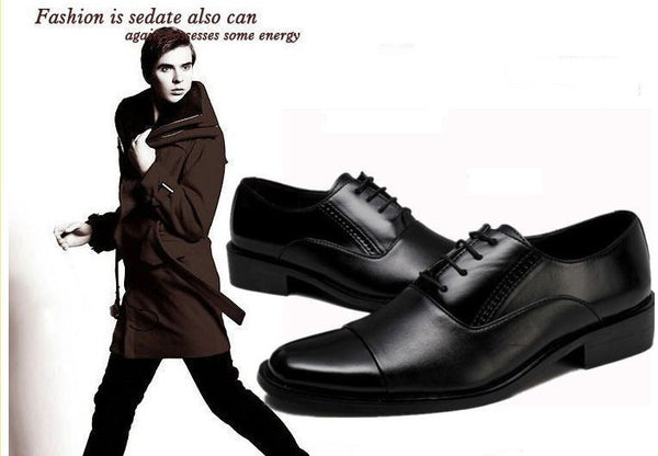 Men's Business Men's Leather Shoes Impression