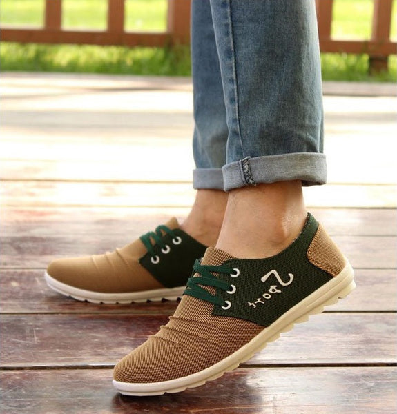 Men's Canvas Breathable Casual Shoes Trendy Series