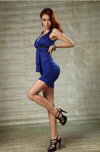 New Arrival  Chic Series Women Evening Dress Spaghetti Brace Club Party Sexy Dress