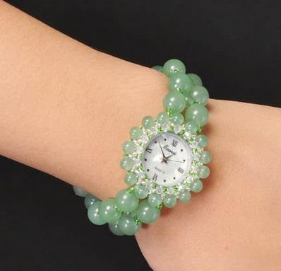 Natural Jade Women Watch