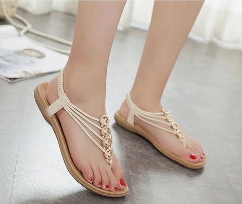 New Chic Style Female Flat Sandals