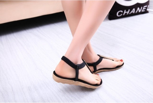 New Women Fashion Sandal Mod Flats Flip Flops