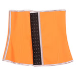 Orange 4 Steel Bones HerFashion Latex Under Bust Corset