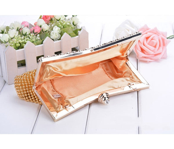 Pearl Evening Bag Clutch Bridal Wedding Party Bag