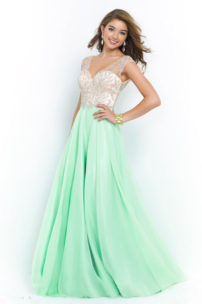 5430d59b9dad Prom Dresses V Neck Beads Crystals Chiffon HerFashion – HisandHerFashion.com