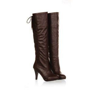 "Sexy Fashion Knee High Heel Boots Shoes ""Chic Series"""