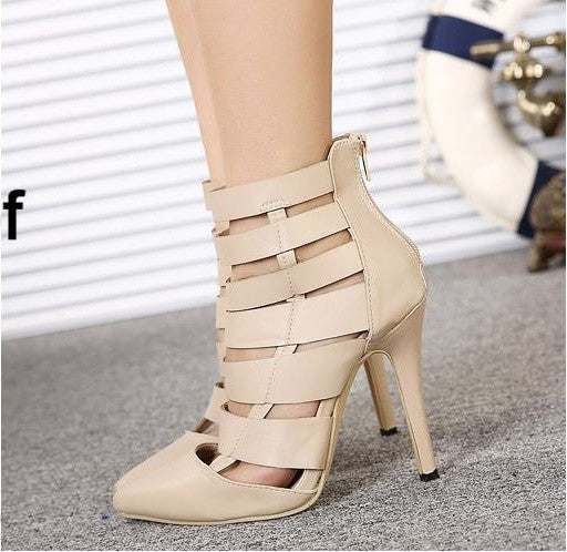 "Summer Boots Sexy High Heels Pointed Toe Pumps ""Chic Series"""