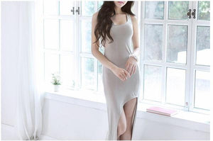 Sexy Women Lady Bohemia  Asymmetrical Beach Long Dress Chic Series
