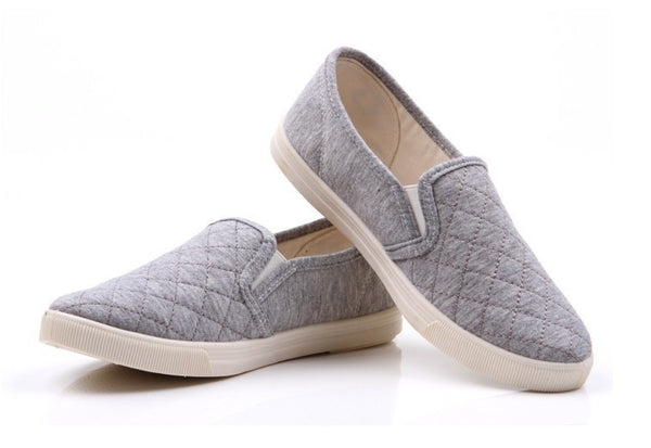 """Simple Series"" Slip-on Canvas Shoes for Women"