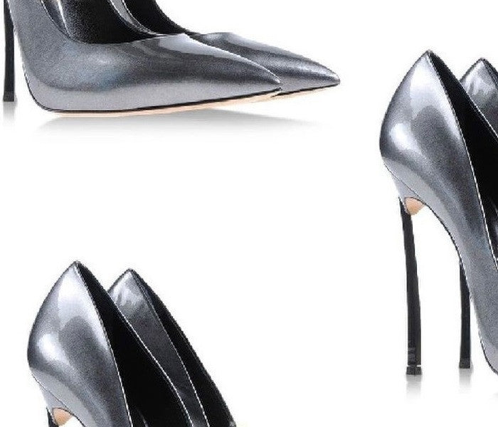 Ultra High 11cm Thin Metal Heels Women Pumps Top Leather T-Stage Chic Shoes
