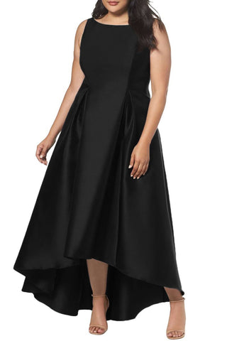 Women BIG'n'BEAUTIFUL Plus Size Sleeveless High Low Party Ballgown