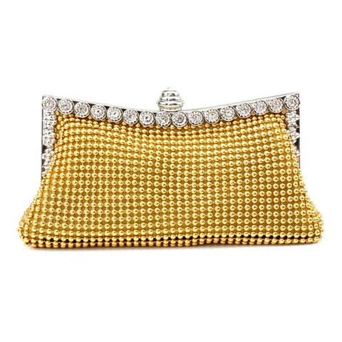 Women's Elegant Style Rhinestone Handbag Purse Evening Bag