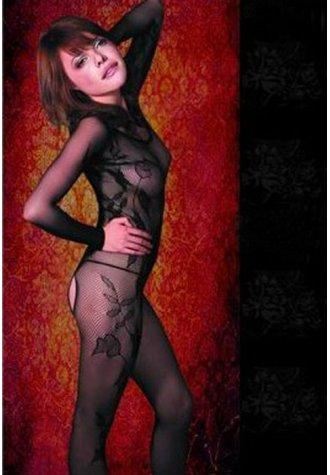 Long Sleeved Lace Bodystocking