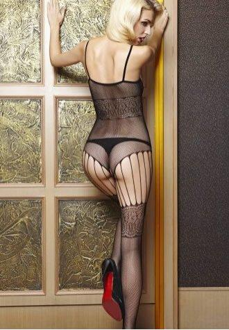 See Through Mesh Bodystockings
